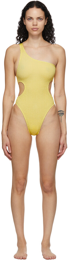 BOUND by Bond-Eye Yellow 'The Milan' One-Piece Swimsuit