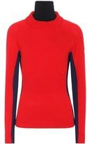 Moncler Wool turtleneck ski sweater