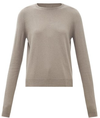 Rick Owens Level Boiled-cashmere Sweater - Womens - Grey