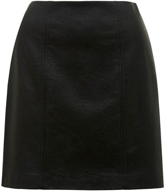Forever New Peyton Seamed PU Mini Skirt