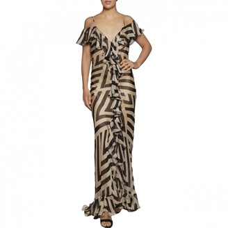 De La Vali Black Silk Dress for Women