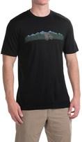 Ibex Art Printed T-Shirt - Merino Wool, Short Sleeve (For Men)