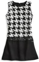 GUESS Houndstooth Dress (7-16)