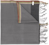 Paul Smith fringed scarf - men - Wool - One Size