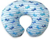 Boppy Infant Feeding/Support Pillow with Whale Watch Slipcover