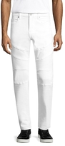 True Religion Geno Motorcycle Straight Jeans