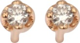 ginette_ny Mini Diamond Clip Earrings