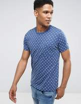 French Connection Mini Dot T-Shirt with Pocket