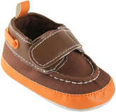 Luvable Friends Brown Boat Shoe - Infant