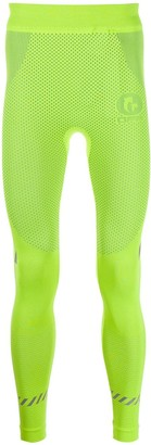 Off-White Fluorescent Seamless Tights