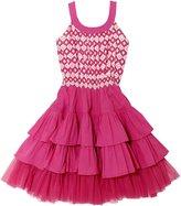 Masala Baby Tutu Dress (Toddler/Kid) - Kirian Geo Pink-10