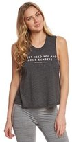 Spiritual Gangster You Me Sunsets Yoga Crop Top 8156526