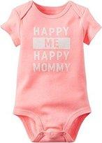Carter's Baby Girls Happy Me Happy Mommy Bodysuit
