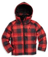 Ralph Lauren Toddler's, Little Girl's & Girl's Buffalo Check Down Jacket
