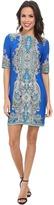 rsvp Center Print Sheath Dress