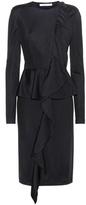 Givenchy Flounced jersey dress