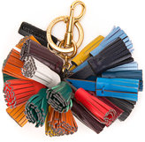 Anya Hindmarch fringed keyring - women - Calf Leather - One Size