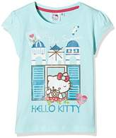 Hello Kitty Girl's Blue Summer T-Shirt,(Manufacturer Size:X-Large)