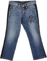 Roberto Cavalli Denim pants - Item 42508638