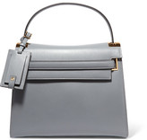 Valentino My Rockstud Medium Leather Tote - Gray