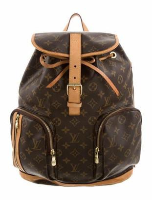 Louis Vuitton Monogram Bosphore Backpack Brown