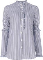 See by Chloe high neck pinstriped shirt