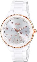 Jivago Women's JV2412 Sky Analog Display Swiss Quartz White Watch