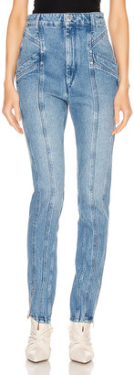 Isabel Marant Kelissa Pant in Light Blue | FWRD