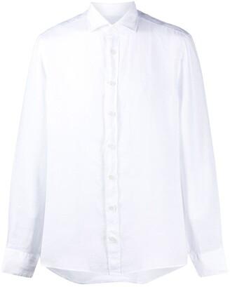 Hackett Long-Sleeve Fitted Shirt