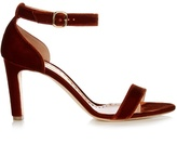 Rupert Sanderson Barrii velvet sandals