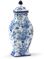 The Well Appointed House Set of Two Blue and White Porcelain Vases - LOW STOCK - ORDER NOW !