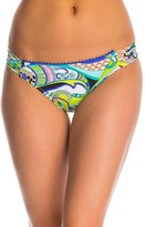 Trina Turk Swimwear Nomad Paisley Shirred Side Hipster Bikini Bottom 8142873
