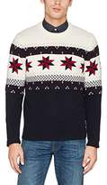Gant Men's Fairisle Christmas Sweater Jumper