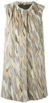 Liska - sleeveless mink fur coat - women - Cotton/Mink Fur - S