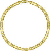 JCPenney FINE JEWELRY Made in Italy 10K Yellow Gold 22 Hollow Mariner Chain
