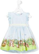 MonnaLisa Bunny print dress