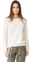 Madewell Wafflestitch Drawstring Sweater