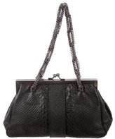 Yigal Azrouel Embossed Frame Bag