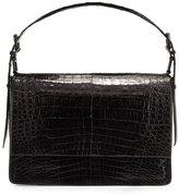 Nancy Gonzalez Crocodile New Flap Satchel Bag
