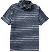 Under Armour Golf Short-Sleeve Coldblack Swing Plane Stripe Polo Shirt