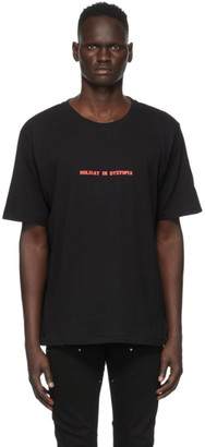 Stolen Girlfriends Club Black Holiday in Dystopia T-Shirt