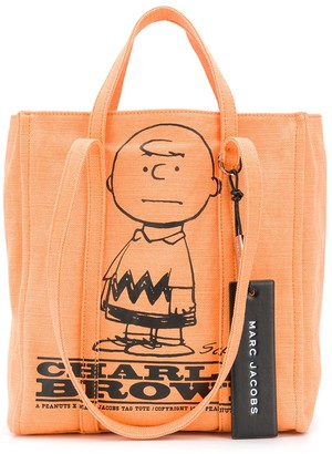 Marc Jacobs x Peanuts Charlie Brown The Tag tote