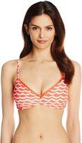 Seafolly Women's Tidal Wave D Cup Bralette Bikini Top