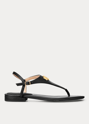 Ralph Lauren Ellington Leather Sandal