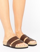 Monki Double Strap Sandals