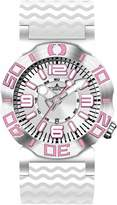 Jacques Lemans Divine Men's 46mm Silicone Stainless Steel Case Watch 1-1381J