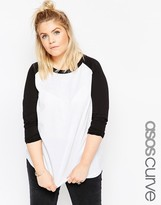 Asos Top With Raglan Sleeve