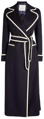 Giuliva Heritage Collection Contrast Trim Belinda Coat