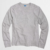 J.Crew Factory Long-sleeve textured cotton T-shirt