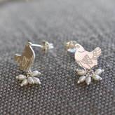 Coleman Amanda Mother Hen Pearl Earrings